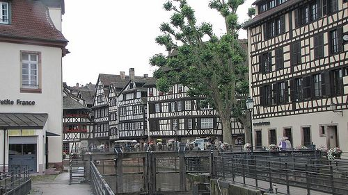 Petit France in Straatsburg