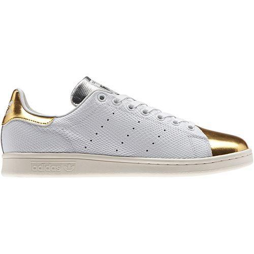 adidas - Stan Smith Schuh White / White / Gold Met. B24698