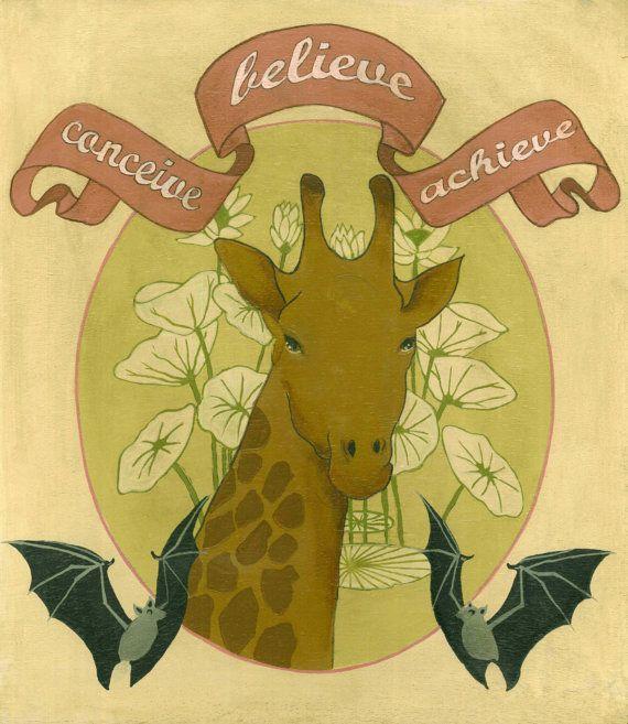 conceive believe achieve by Virginia Diakaki