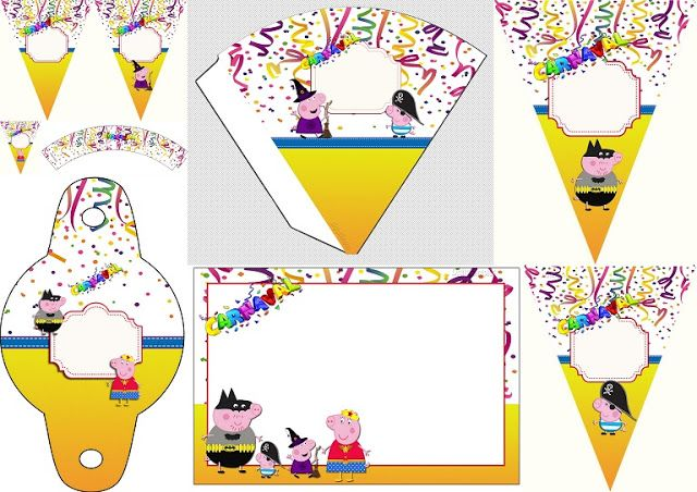Carnival with Peppa Pig: Free Party Printable and ...