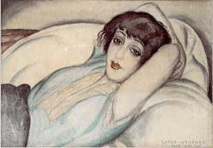 Lili Elbe painted by Gerda Wegener