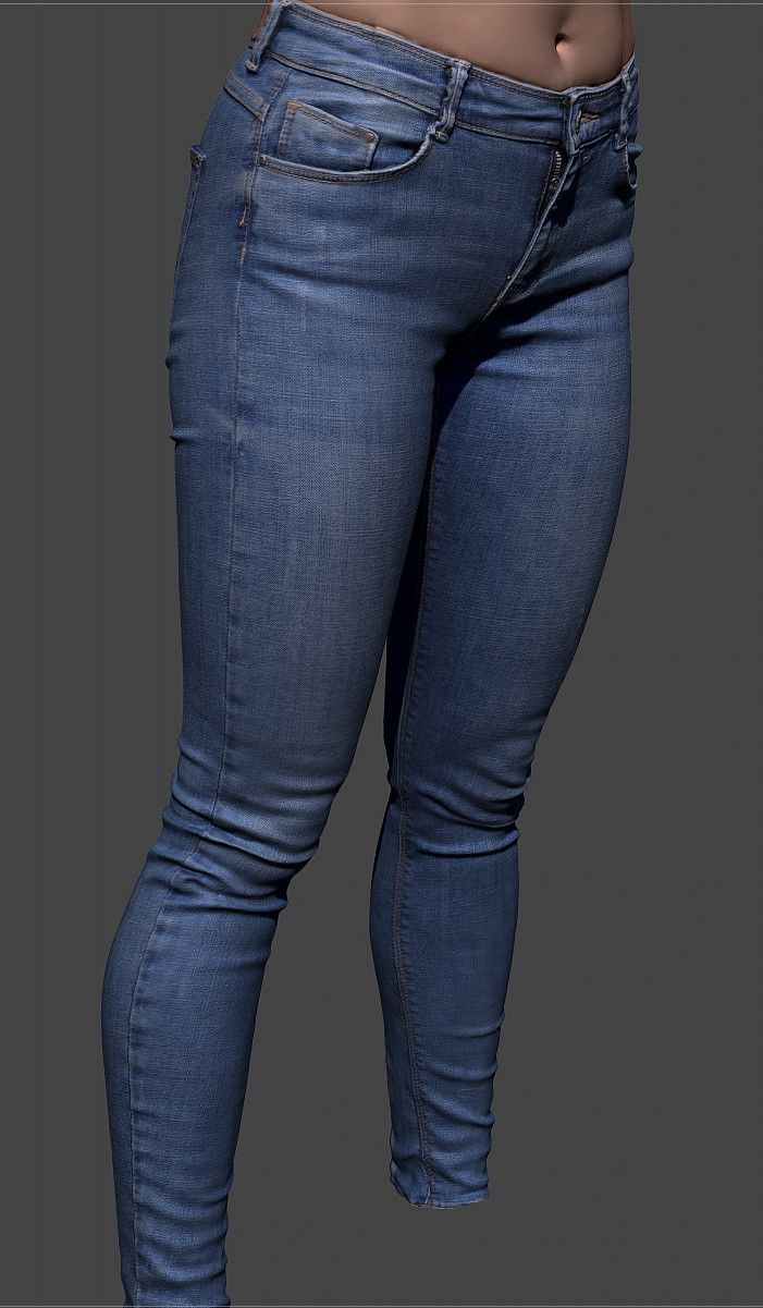 ArtStation - Jeans cleaned, Eugene Fokin