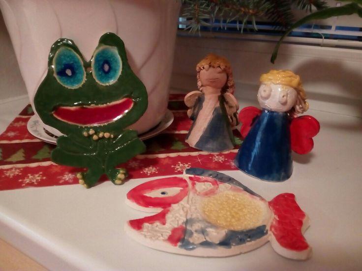 Vánoční keramika pro děti - RVC Holoubek