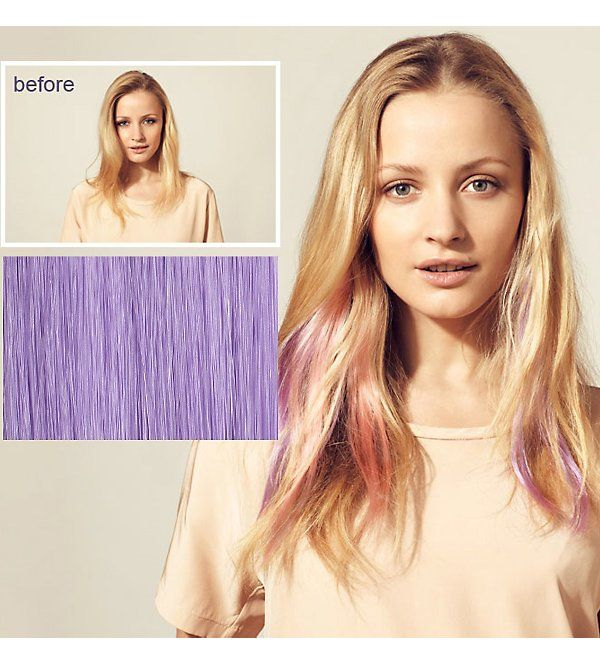 HERSHESONS - Instant highlights clip in hair piece | Selfridges.com