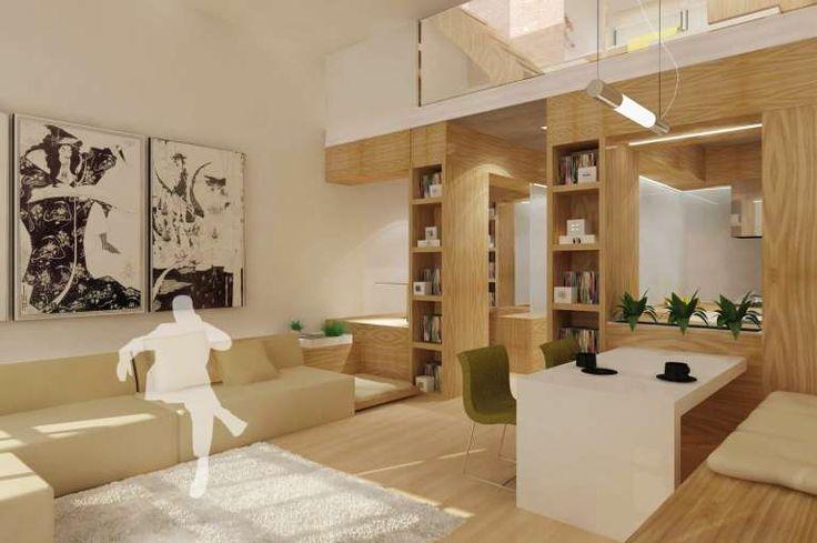 Cucina e soggiorno open space (Foto 18/40) | Designmag