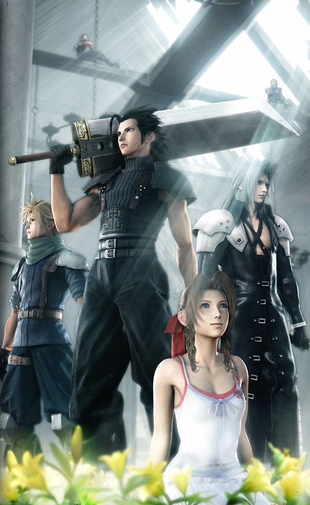 Final Fantasy 7 Crisis Core I cry at the end of this game!