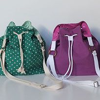 <em>The Fairly Bucket Bag</em>–Free Pattern and Tutorial