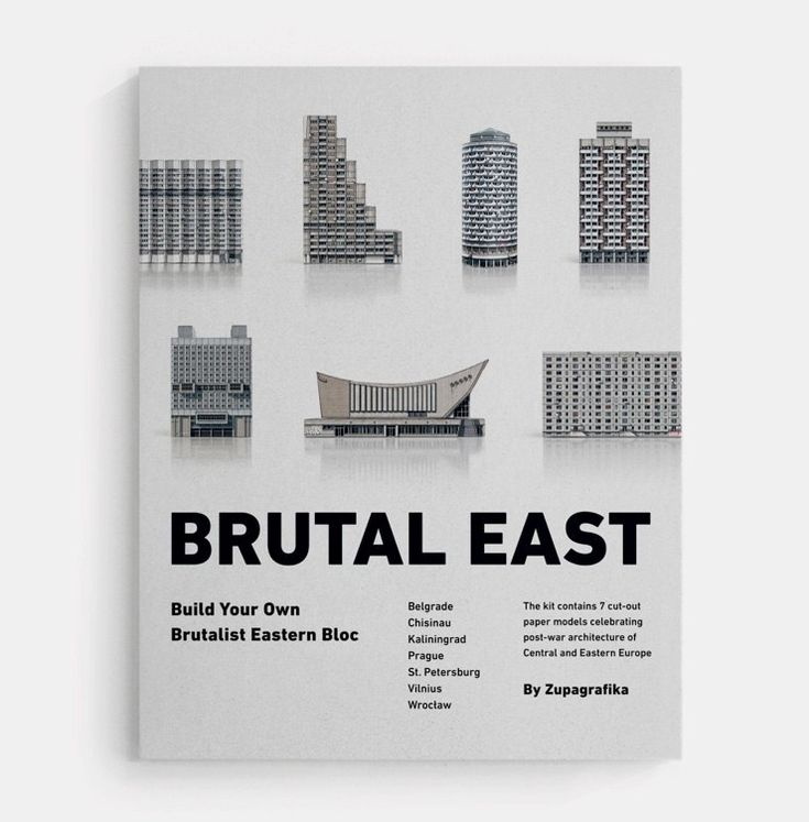 BRUTAL EAST by Zupagrafika: Build Your Own Brutalist Eastern Bloc