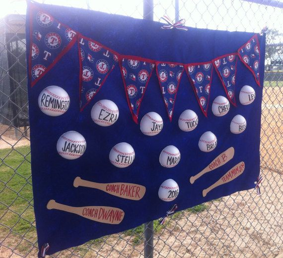 Little League T-Ball and Baseball Banners by TexanConfections