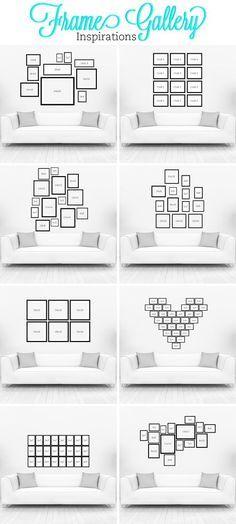 Gallery Wall Ideas to Transform Any Room :: Hometalk