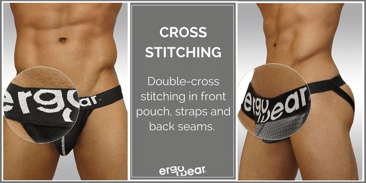 Double-cross stitching in the front pouch, straps and back seams