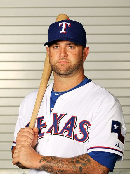 Mike Napoli.   I love him.