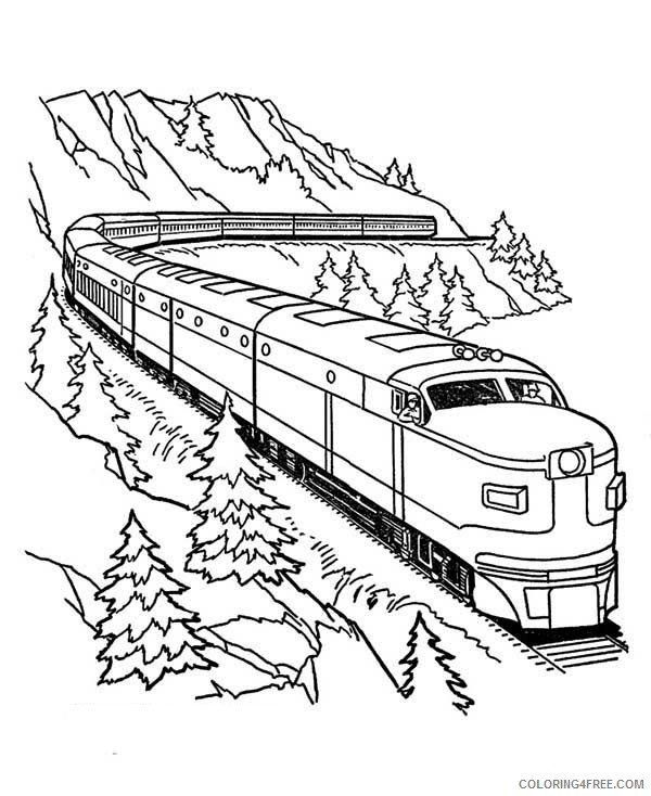 30 Train Coloring Pages Printable Free In 2020 Train Coloring Pages Valentines Day Coloring Page Coloring Pages