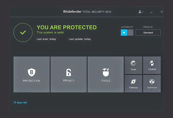 BitDefender Internet Security Free 9 month Premium code | MYGREATDEALS