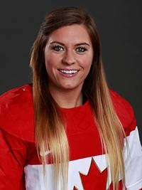 Natalie Spooner #24·F named to the 2014 Canadian women's hockey team for the Olympics