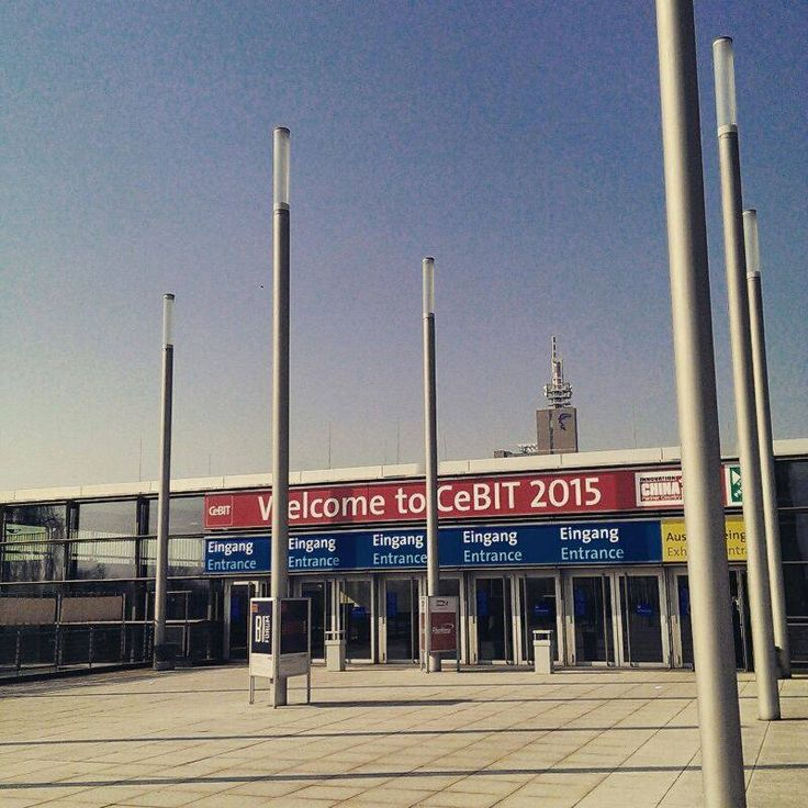 CeBIT 2015 - this year's main theme is d!conomy: Cloud & Big Data