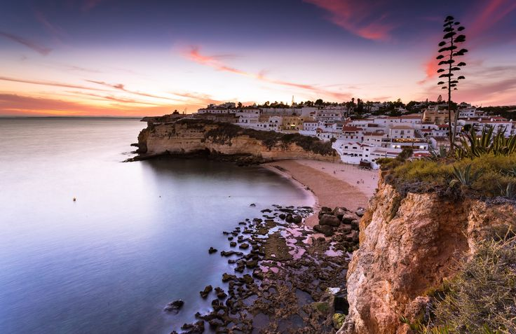 Carvoeiro Sunset Algarve - Small Village but, wonderful and beauty for holidays ,South of Portugal-Algarve