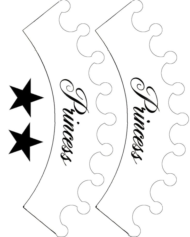 Printable Princess Crown Template - ClipArt Best