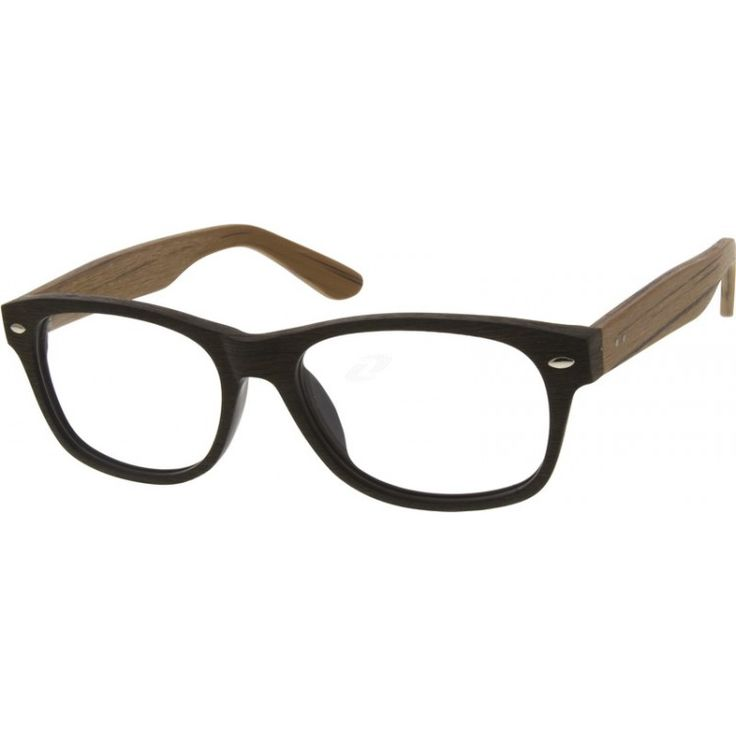 These full rimmed acetate frames come in imitation wood grain, so great that it feels like real wood. They also adorn a ...Price - $29.95