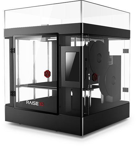 Fume-free 3D printer with high precision
