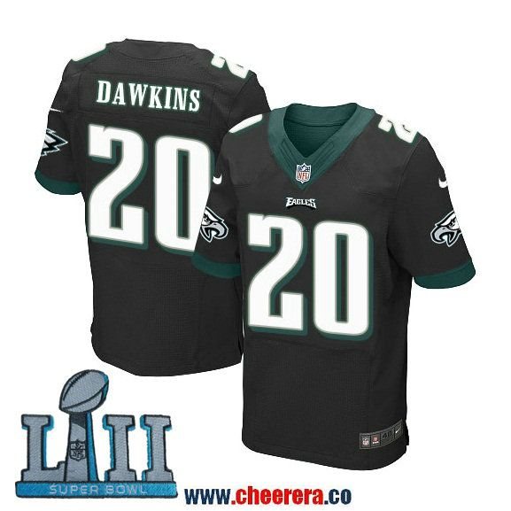 low priced d25db 1c68f Nike Men's NFL Philadelphia Eagles 20 Brian Dawkins Black ...