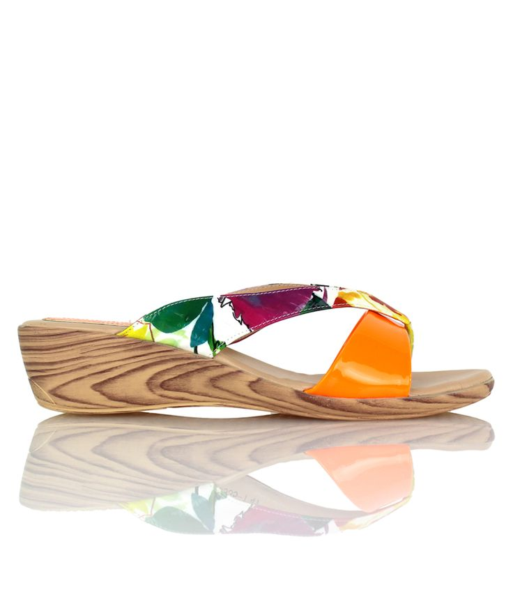 Mimosa - Playful wedge sandal from our Cocktails on the Beach range