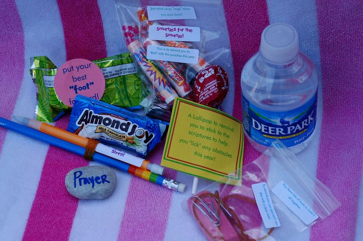 back to school bag - cute idea for teenagers