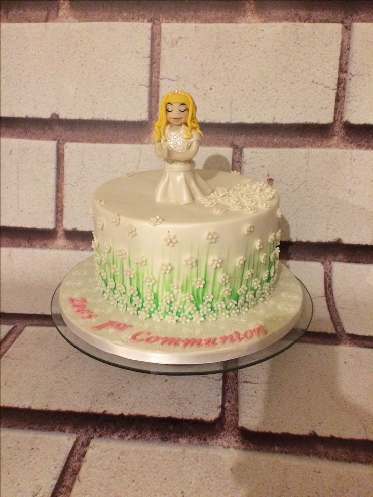 Girl First Communion Cake