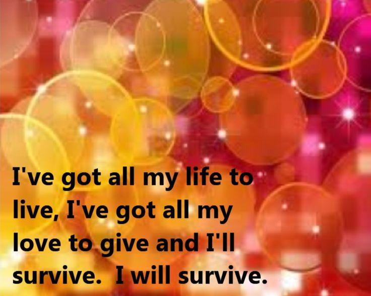 Gloria Gaynor Lyric