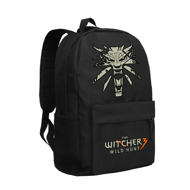 Special offer The Witcher 3 Wild Hunt Backpack Cool Boy School Bag The Witcher3 Daypack Bookbag Wild Hunt just only $29.89 with free shipping worldwide  #backpacksformen Plese click on picture to see our special price for you