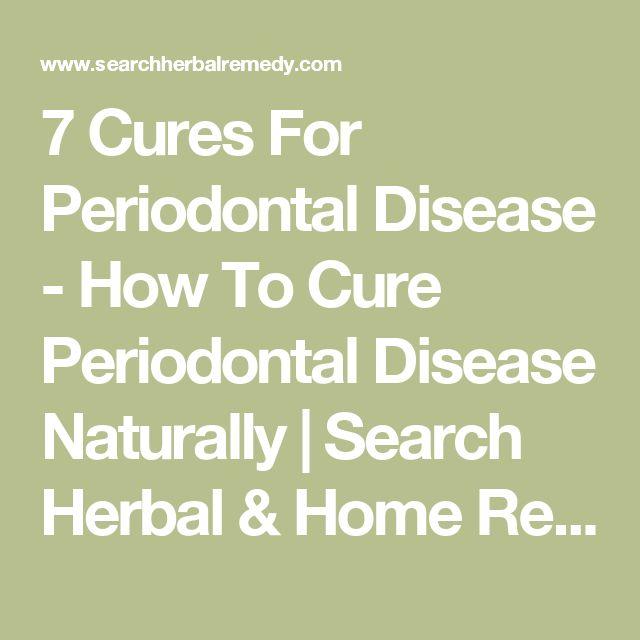 Natural Cures For Dog Gum Disease