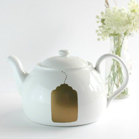 Change it to chalkboard so you can label the tea pot for different flavors!!!!!!!!!!