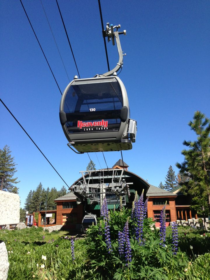 Heavenly Village in South Lake Tahoe, CA. You have to ride the gondola at least once. There's a beautiful view at the top! For more things to do see: http://visit-eldorado.com/