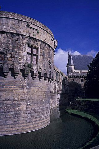 Chateau des Ducs de Bretagne (Castle of the Dukes of Brittany), Nantes, Pays de…