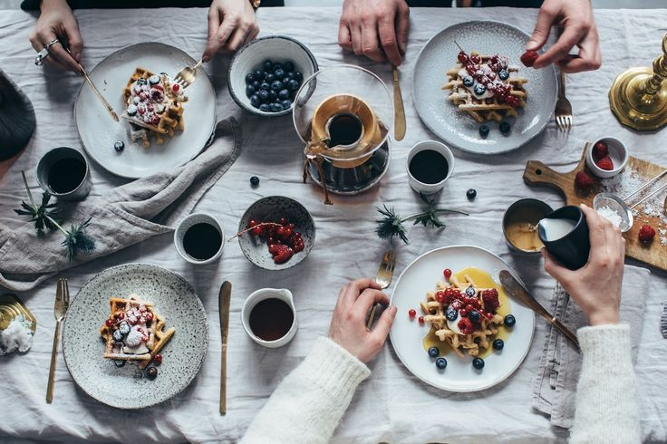 our food stories // gluten free waffles