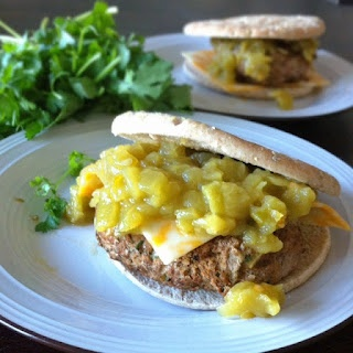 Green Chile Turkey Burgers | Health Foods | Pinterest
