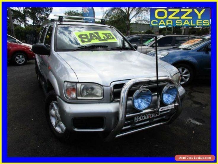 2004 Nissan Pathfinder Silver #nissan #pathfinder #forsale #australia