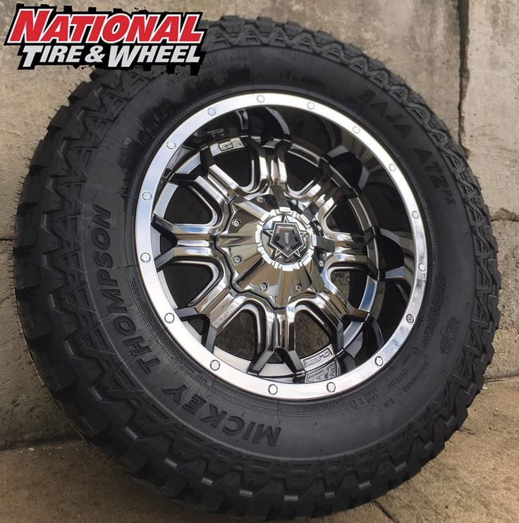 "18X9 TIS Type 535 wheel / 305X60R18 Mickey Thompson ATZ P3 tire. Click the ""Visit"" button above to begin building your own custom wheel and tire package where you will receive an immediate price quote. You can also head over to ntwonline.com to see our entire selection plus prices, or you can call (800) 847-3287 to speak to a Sales Rep."