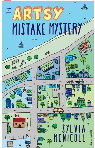 Artsy Mistake Mystery by Sylvia McNicoll, cover art by Tania Howells