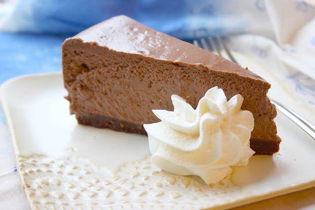 Kulinaari: Valloittavan herkullinen Chocolate Cheesecake
