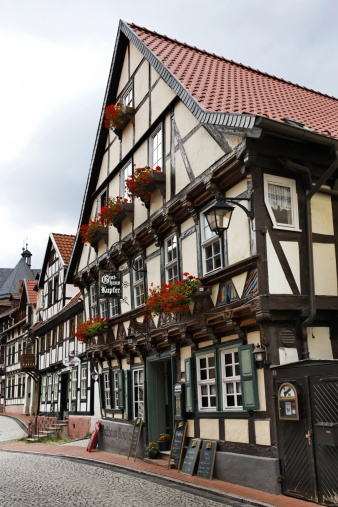 A beautiful restaurant, Stolberg, Saxony-Anhalt, Germany