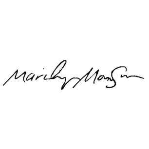 Marilyn Manson signature