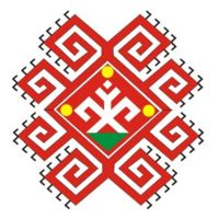 Symbol of the Mari Native Religion. The Mari are a Volga Finnic ethnic group based in the republic of Mari El, in Russia