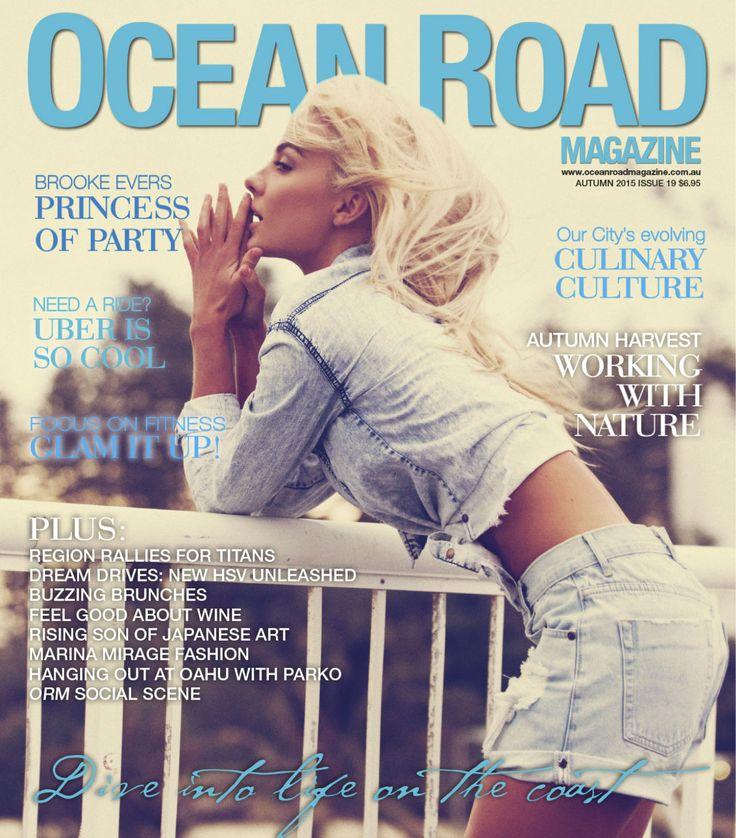 Cover - Autumn Edition 2015 - Ocean Road Magazine