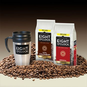 Eight O'Clock Coffee #GIVEAWAY http://thewigleys.wordpress.com/2012/09/28/eight-oclock-coffee-giveaway/