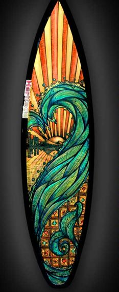 172 best tattoo images on pinterest tattoo ideas for Awesome surfboard designs