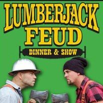 We Can't Wait To Visit: Lumberjack Feud Dinner Show! | Flip Out Mama