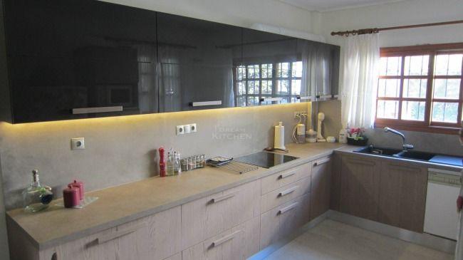 Κουζίνα Καπλαμάς και Λάκα κ.Δανάη Γλυφάδα Τιμή κουζίνας 5.200€