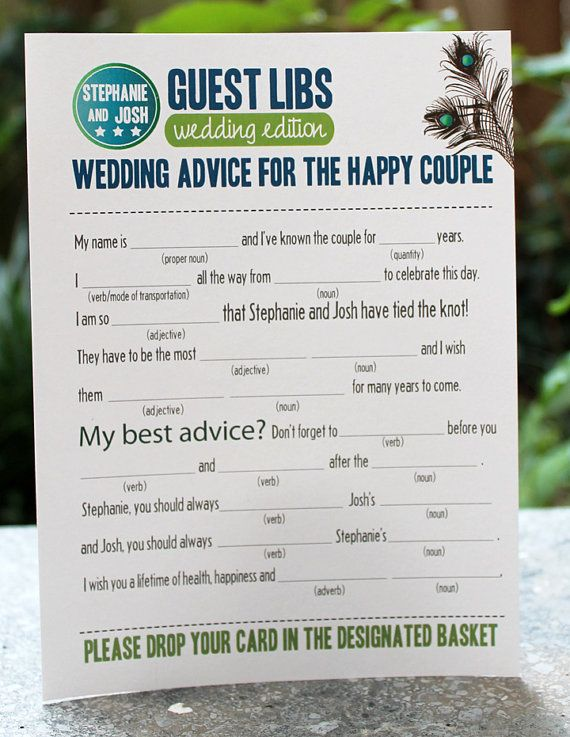 Wedding Shower Idea