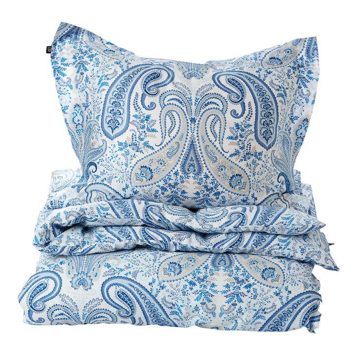 Gant Home Key West Blue Paisley Duvet 150 x 210 cm